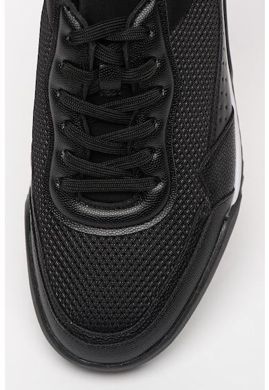 CALVIN KLEIN Holt 2 sneaker műbőr és hálós anyagú részletekkel férfi