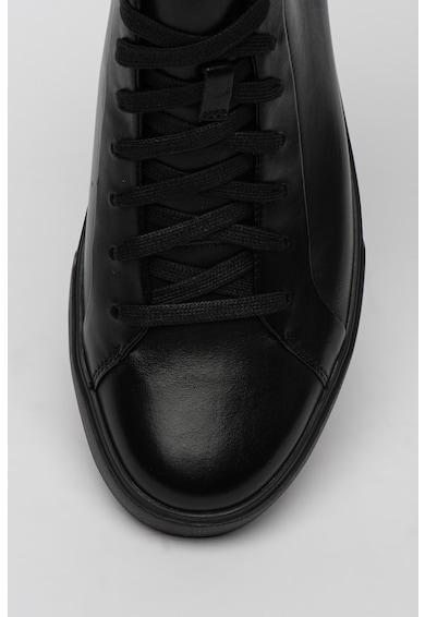 Clarks Sneakers, Pantofi sport mid-cut de piele Un Costa Barbati