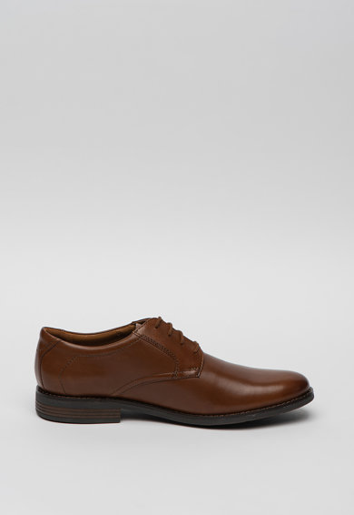 Clarks Pantofi derby de piele Becken Barbati