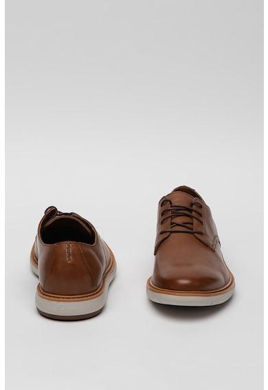 Clarks Pantofi derby casual de piele Draper Barbati