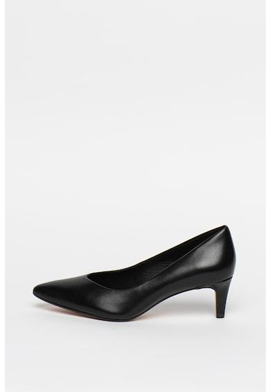 Clarks Pantofi de piele cu varf ascutit Laina55 Femei
