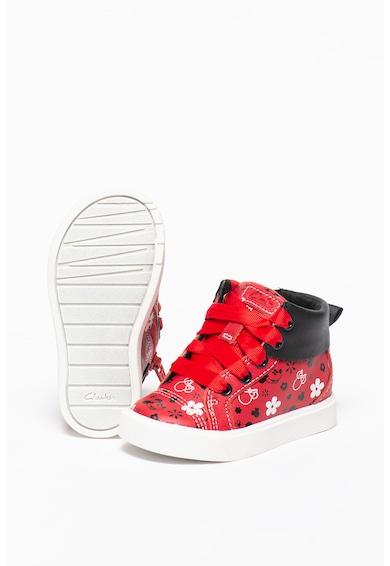 Clarks City Mouse bőr sneaker Lány