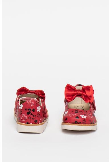 Clarks Pantofi Mary Jane de piele cu detaliu funda Crown Fete