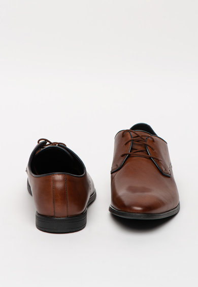 Clarks Pantofi derby din piele Bampton Park Barbati