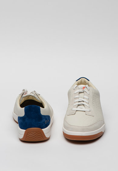 Clarks Pantofi sport de piele si piele intoarsa Hero Air Barbati