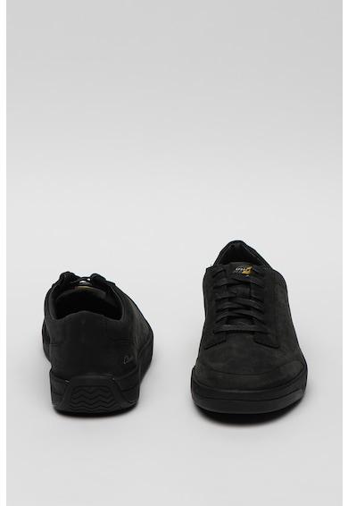 Clarks Pantofi sport de piele nabuc Hero Air Barbati