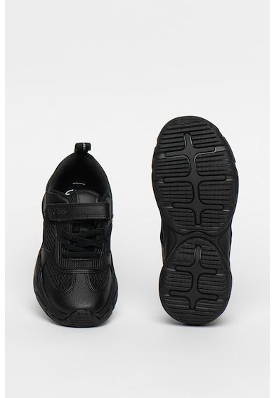 Clarks Pantofi sport cu garnituri de plasa si piele Kuju Run Fete