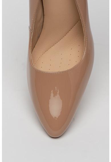 Clarks Pantofi de piele lacuita Laina Rae Femei
