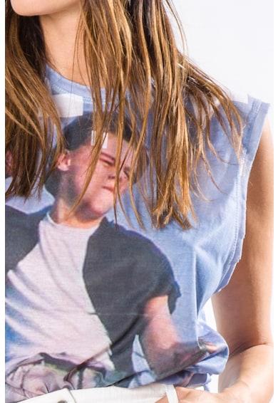 MEWS CHANNEL The Escape fotómintás top női
