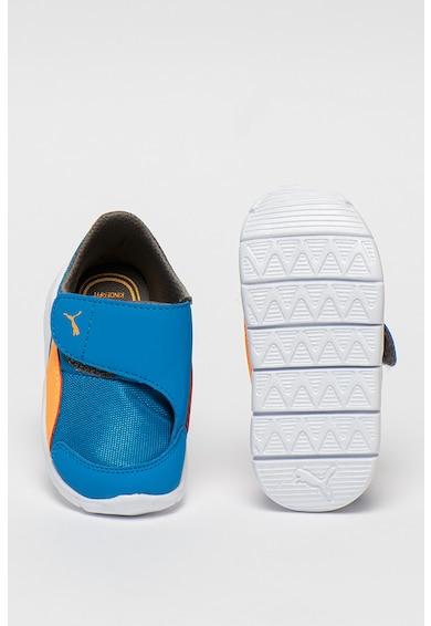 Puma Pantofi sport colorblock cu banda velcro Bao 3 AC Baieti
