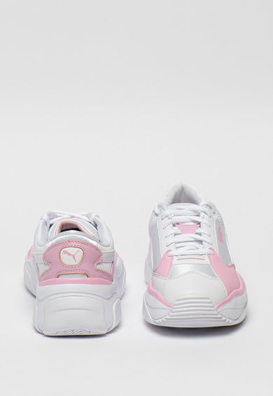 Puma Pantofi sport cu insertii din piele ecologica STORM.Y Sorbet Femei