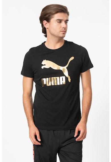 Puma Tricou de bumbac cu imprimeu logo Barbati