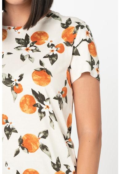 b.young Rillo kerek nyakú póló gyümölcsmintával női