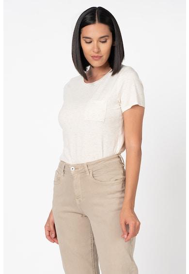 ICHI Rebel kerek nyakú póló foltzsebbel női