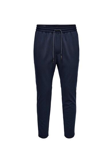 Only & Sons Pantaloni sport conici, cu snur Barbati