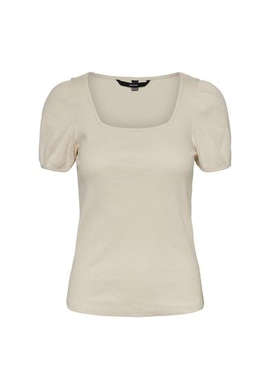 Vero Moda Bluza din amestec de bumbac organic, cu maneci bufante Ariana Femei