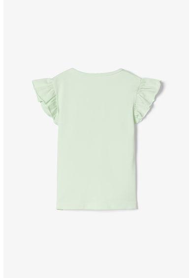 NAME IT Organikuspamut tartalmú póló mellzsebbel Lány