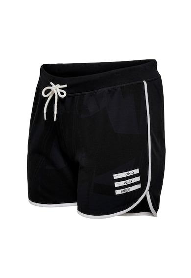 Only Play Pantaloni sport scurti cu snur de ajustare in talie Femei