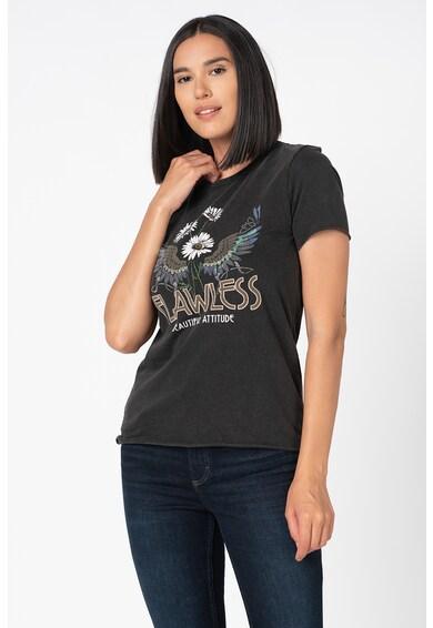 Only Lucy mintás organikuspamut póló női
