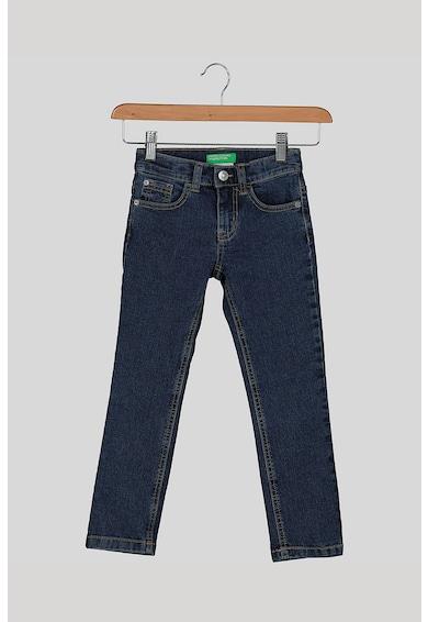 United Colors of Benetton Slim fit farmernadrág állítható derékrésszel Fiú