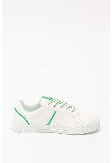 United Colors of Benetton Pantofi sport de piele ecologica cu logo lateral Baieti