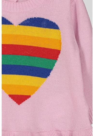 United Colors of Benetton Pulover cu terminatie cu volane Fete