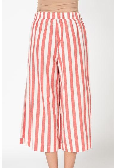 Undercolors of Benetton Pantaloni culotte in dungi cu croiala ampla Femei