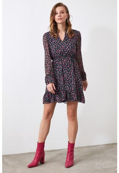Trendyol Rochie mini cu model floral Femei
