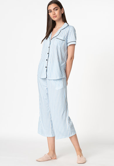 Trendyol Pijama cu model in dungi Femei