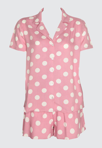 Trendyol Pijama cu buline Femei