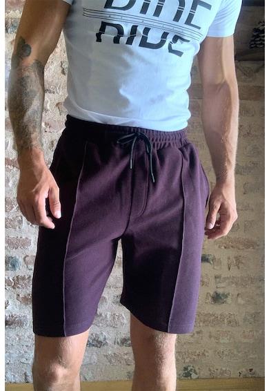 Trendyol Megkötős pamut bermudanadrág férfi