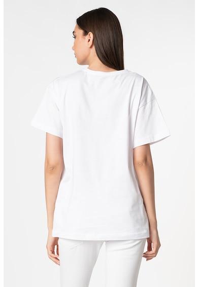 Trendyol Tricou supradimensionat cu imprimeu grafic Femei