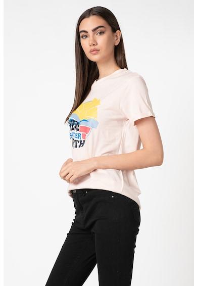 Trendyol Tricou de bumbac cu imprimeu Femei