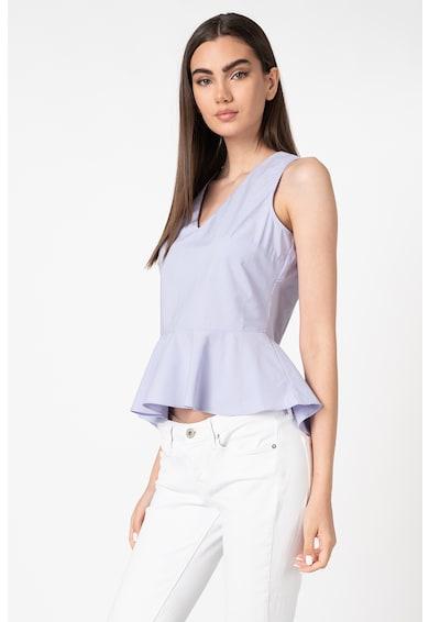 Trendyol Bluza peplum cu decolteu in V Femei