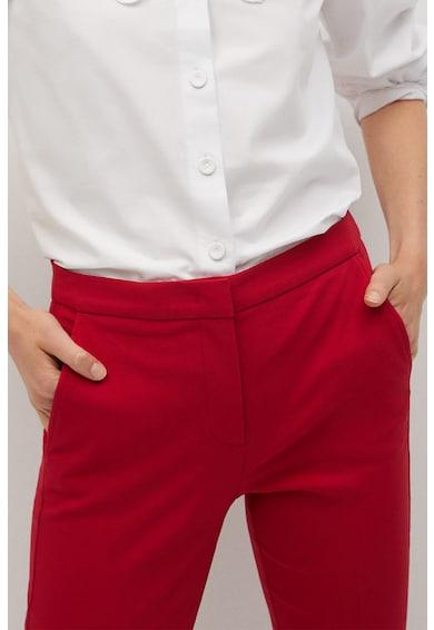 Mango Pantaloni chino skinny fit Cola Femei