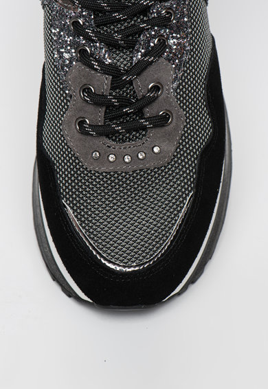 Liu Jo Pantofi sport cu garnituri stralucitoare Wonder Maxi Femei