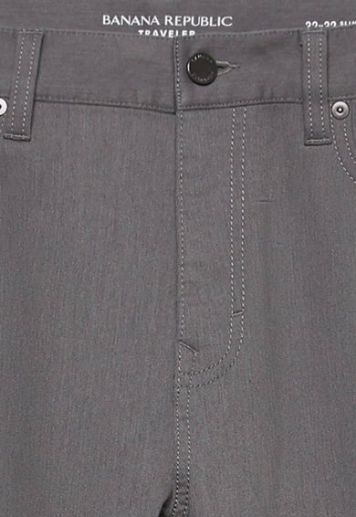 Banana Republic Pantaloni slim fit drepti Traveler Barbati