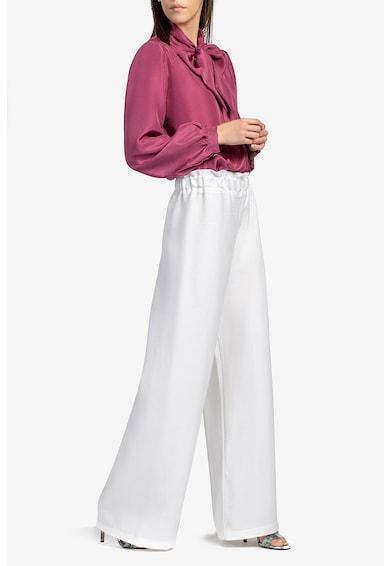 Acob à porter Pantaloni palazzo cu talie inalta Femei