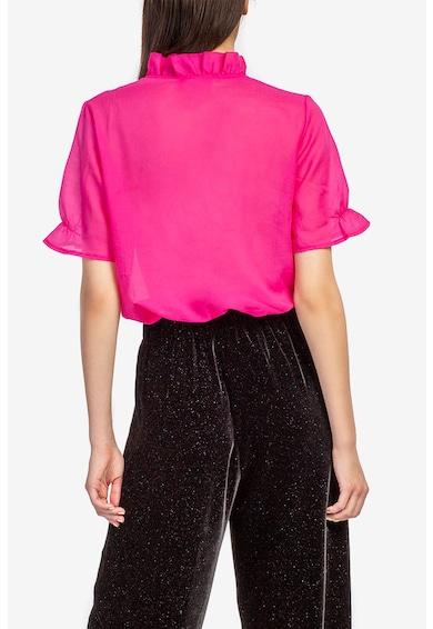 Acob à porter Bluza vaporoasa cu guler cu volane Femei
