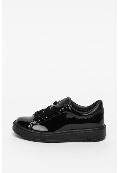 Primigi Pantofi de piele ecologica cu aspect lacuit Fete