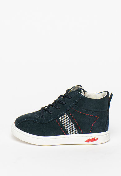 Primigi Pantofi sport de piele intoarsa cu detalii contrastante Baieti