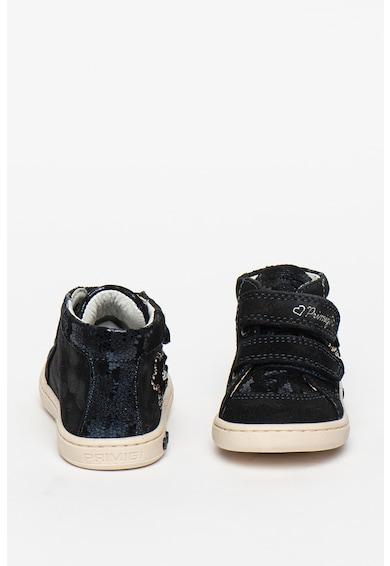 Primigi Pantofi sport de piele intoarsa cu velcro Fete