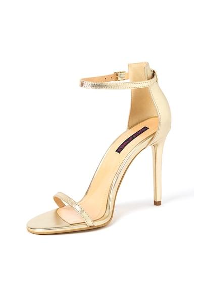 Traces of Heels Sandale stiletto de piele cu bareta pe glezna Femei
