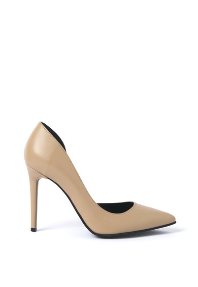 Traces of Heels Pantofi d'Orsay stiletto de piele Femei