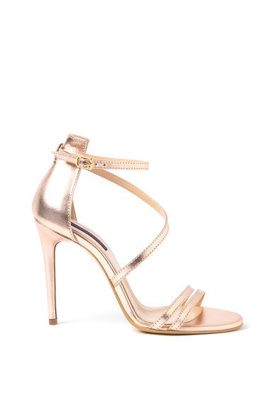 Traces of Heels Sandale de piele cu toc inalt Femei