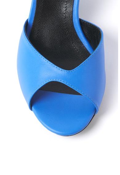 Traces of Heels Sandale de piele cu toc masiv Femei