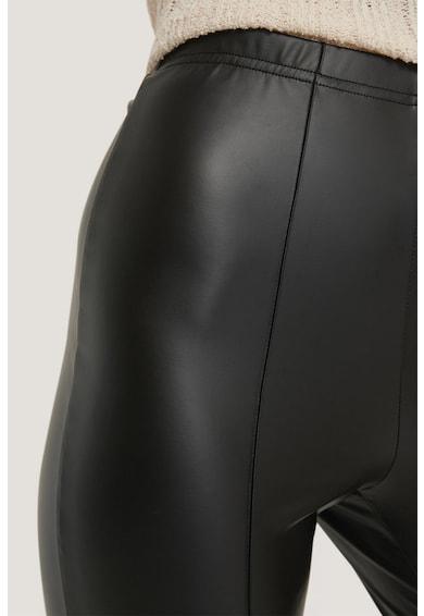 NA-KD Colanti de piele ecologica, cu talie inalta Femei