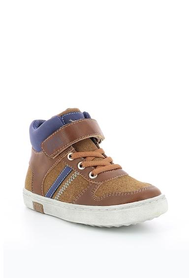 Mod8 kids Pantofi sport inalti cu insertii din piele intoarsa Baieti