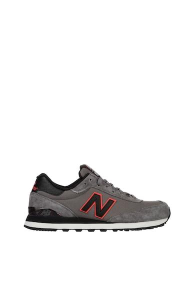 New Balance Pantofi sport cu insertii din piele intoarsa 515 Barbati