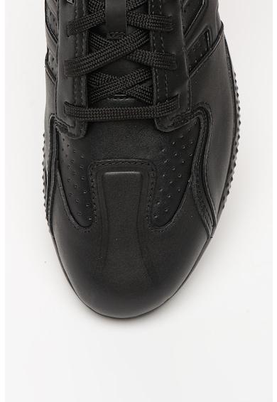 Geox Pantofi sport cu amortizare si garnituri de piele Snake.2 Barbati